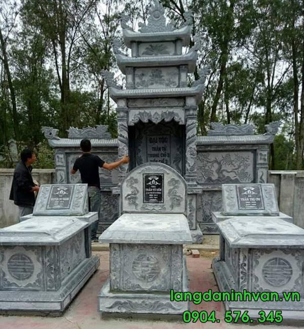 mộ đá hậu bành đẹp