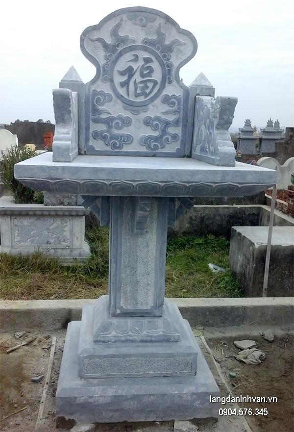 Bàn thờ thiên đá xanh đẹp chất lượng tốt giá rẻ thiết kế cao cấp