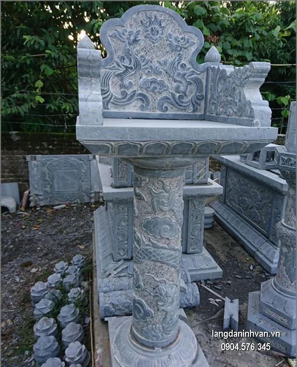 Bàn thờ thiên đá xanh đẹp chất lượng tốt giá tốt thiết kế hiện đại