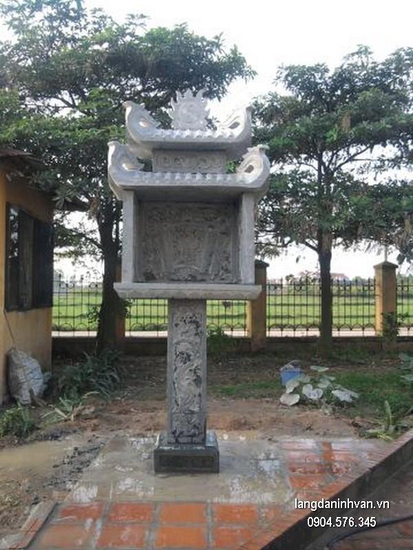Bàn thờ thiên đá xanh đẹp chất lượng tốt giá tốt thiết kế đơn giản