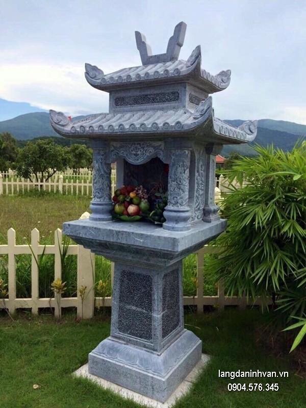 Bàn thờ thiên đá xanh đẹp chất lượng tốt giá hợp lý thiết kế hiện đại