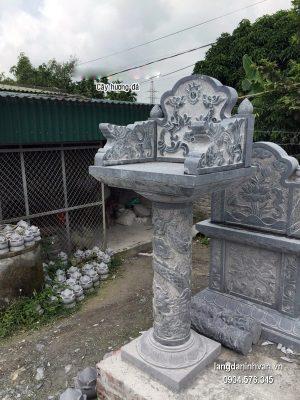Bàn thờ thiên đá xanh đẹp chất lượng tốt giá rẻ thiết kế đơn giản