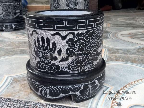 Bát hương đá xanh đẹp chất lượng cao giá hợp lý thiết kế hiện đại
