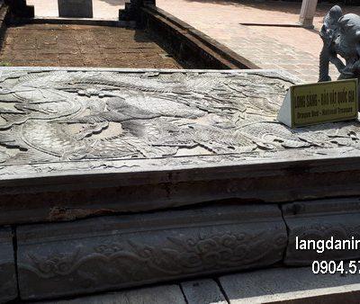 Chiếu rồng đá chạm khắc đẹp giá hợp lý