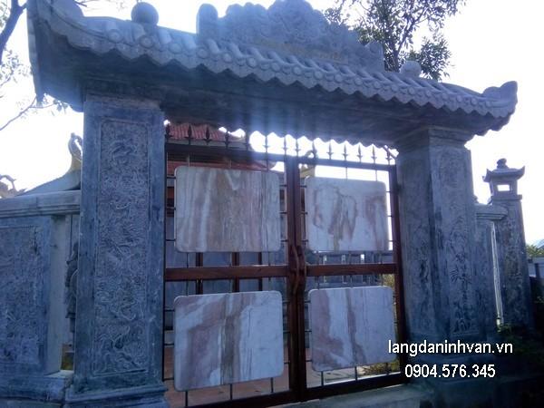 Cổng tam quan đá xanh đẹp chất lượng tốt giá tốt thiết kế cao cấp
