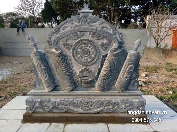 Cuốn thư chạm khắc đá đẹp chất lượng cao giá tốt