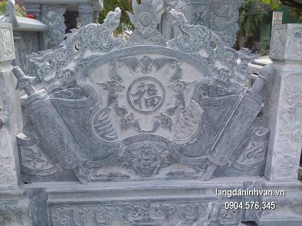 Cuốn thư chạm khắc đá đẹp chất lượng tốt giá tốt