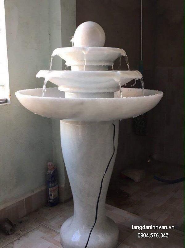 Đài phun nước bằng đá đẹp chất lượng tốt giá hợp lý