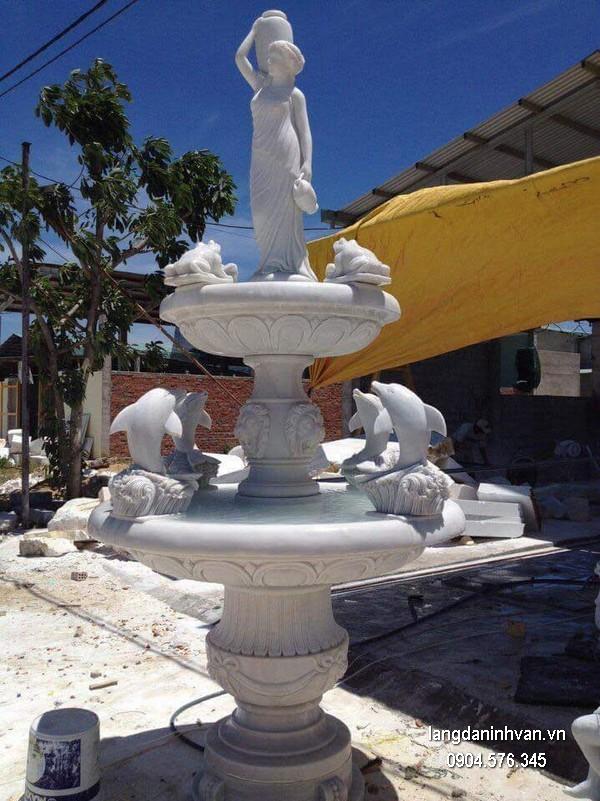 Đài phun nước bằng đá đẹp thiết kế hiện đại giá hợp lýĐài phun nước bằng đá đẹp thiết kế hiện đại giá hợp lý