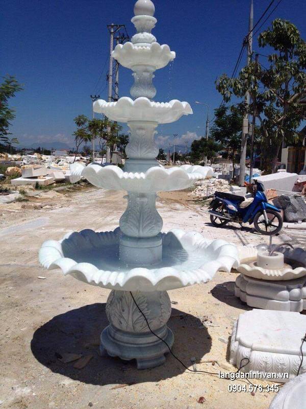 Đài phun nước bằng đá đẹp thiết kế cao cấp giá tốt