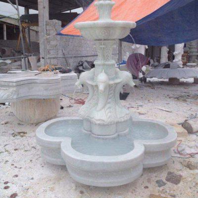 Đài phun nước bằng đá đẹp thiết kế đơn giản giá rẻ