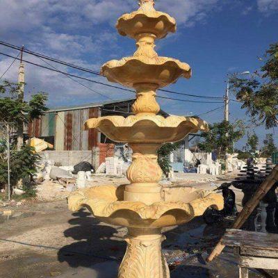 Đài phun nước bằng đá đẹp nhất chất lượng cao giá tốt