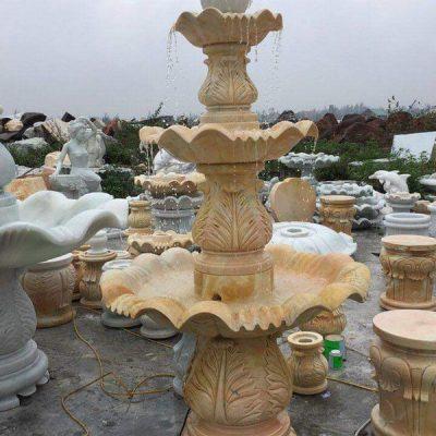 Đài phun nước bằng đá đẹp nhất chất lượng tốt giá rẻ