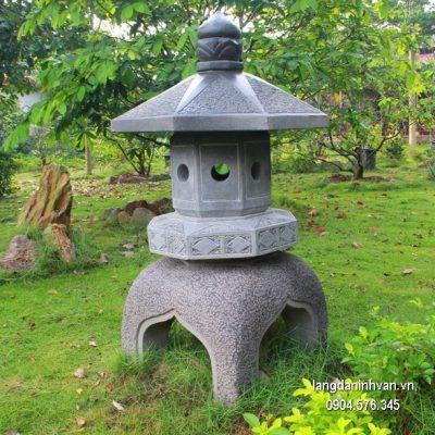 Đèn đá sân vườn đẹp thiết kế đơn giản giá rẻ