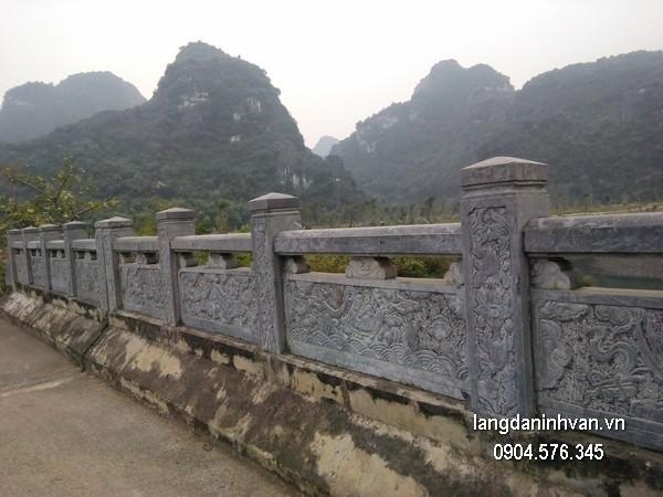 Hàng rào đá xanh đẹp nhất chất lượng tốt giá tốt thiết kế đơn giản