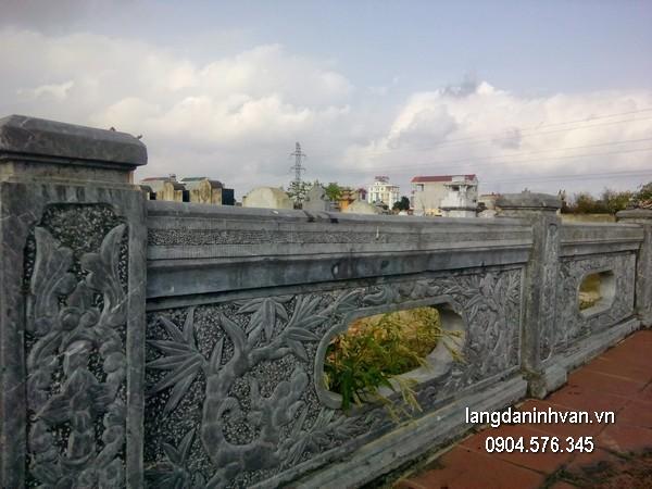 Hàng rào đá xanh đẹp nhất chất lượng tốt giá hợp lý thiết kế hiện đại