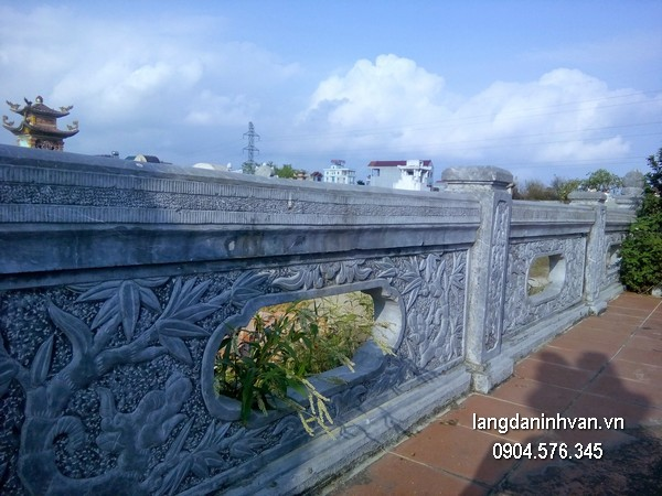 Hàng rào đá xanh đẹp nhất chất lượng tốt giá hợp lý thiết kế cao cấp