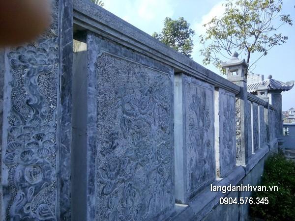 Hàng rào đá đẹp chất lượng cao giá rẻ thiết kế hiện đại