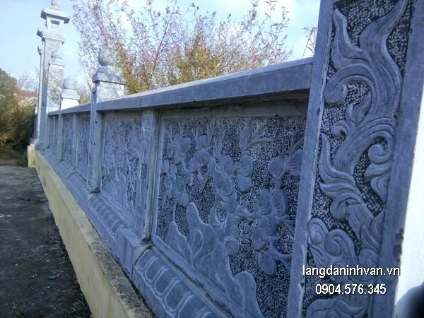 Hàng rào đá đẹp chất lượng cao giá rẻ thiết kế cao cấp