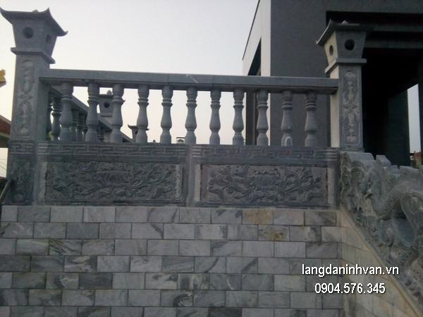 Hàng rào đá đẹp chất lượng cao giá tốt thiết kế đơn giản