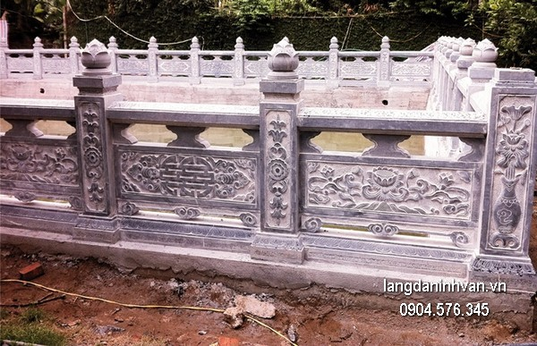 Hàng rào đá đẹp chất lượng tốt giá tốt thiết kế hiện đại