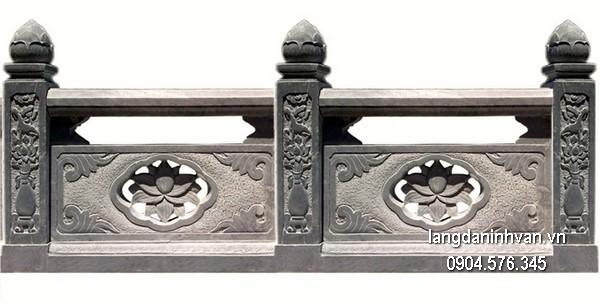 Hàng rào đá đẹp chất lượng tốt giá tốt thiết kế đơn giản