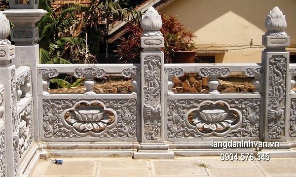 Hàng rào đá đẹp chất lượng tốt giá hợp lý thiết kế hiện đại