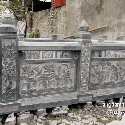 Hàng rào đá đẹp chất lượng tốt giá hợp lý thiết kế cao cấp