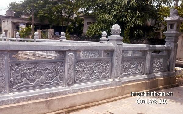 Hàng rào đá đẹp nhất chất lượng cao giá rẻ thiết kế đơn giản