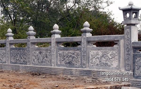 Hàng rào đá đẹp nhất chất lượng cao giá tốt thiết kế hiện đại