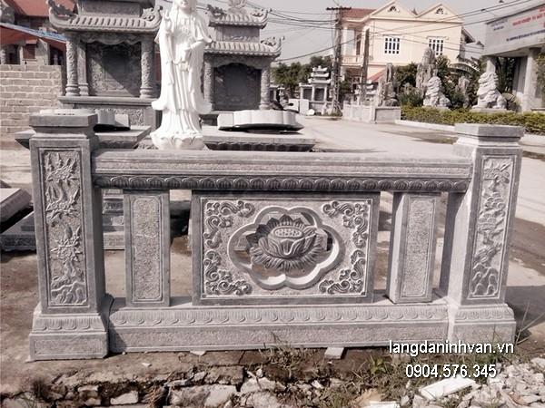 Hàng rào đá đẹp nhất chất lượng cao giá tốt thiết kế cao cấp