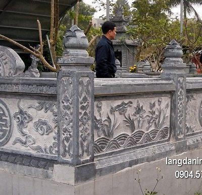 Hàng rào đá đẹp nhất chất lượng cao giá hợp lý thiết kế hiện đại