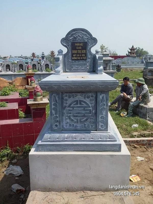 Mẫu mộ đá bành đẹp nhất chất lượng tốt giá tốt thiết kế cao cấp