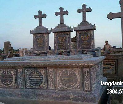 Mộ đá công giáo đẹp nhất chất lượng tốt giá tốt thiết kế cao cấp