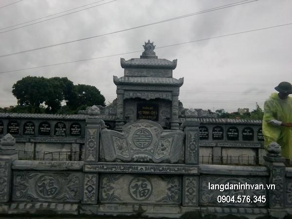 Mẫu mộ đá hai mái đẹp nhất chất lượng cao giá rẻ thiết kế hiện đại