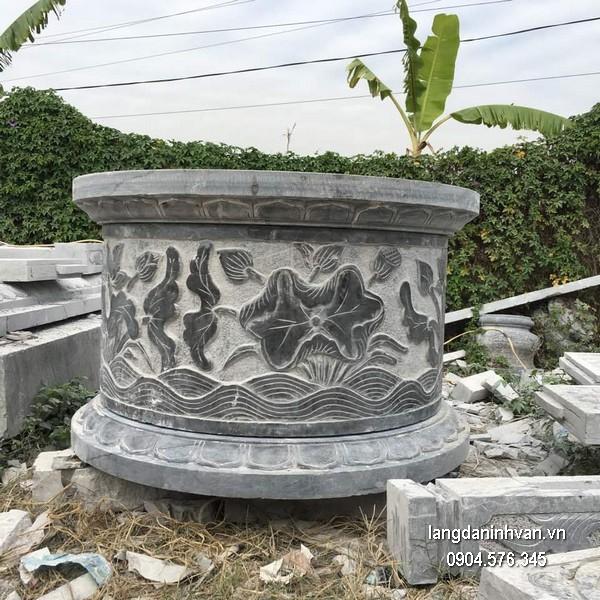 Mẫu mộ đá tròn khối chất lượng tốt giá hợp lý thiết kế cao cấp