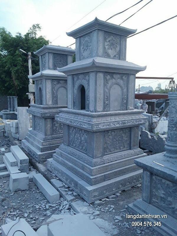 Mộ tháp đá đẹp giá rẻ thiết kế cao cấp