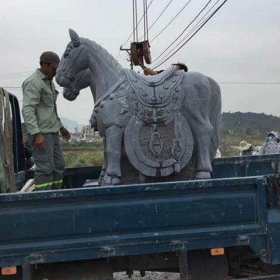 Ngựa đá phong thủy đẹp chất lượng tốt giá rẻ