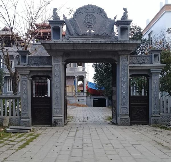 mẫu cổng làng bằng đá đẹp nhất việt nam 2019
