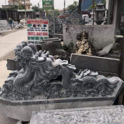 Rồng đá phong thủy chạm khắc đẹp chất lượng cao giá rẻ