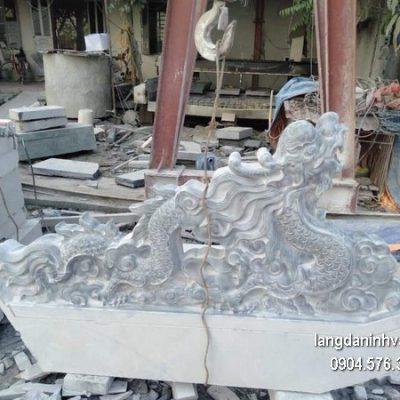 Rồng đá phong thủy chạm khắc đẹp chất lượng cao giá tốt