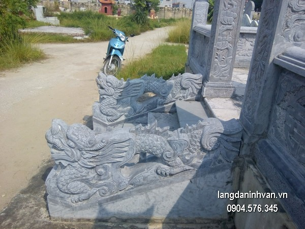 Rồng đá phong thủy chạm khắc đẹp chất lượng cao giá hợp lý