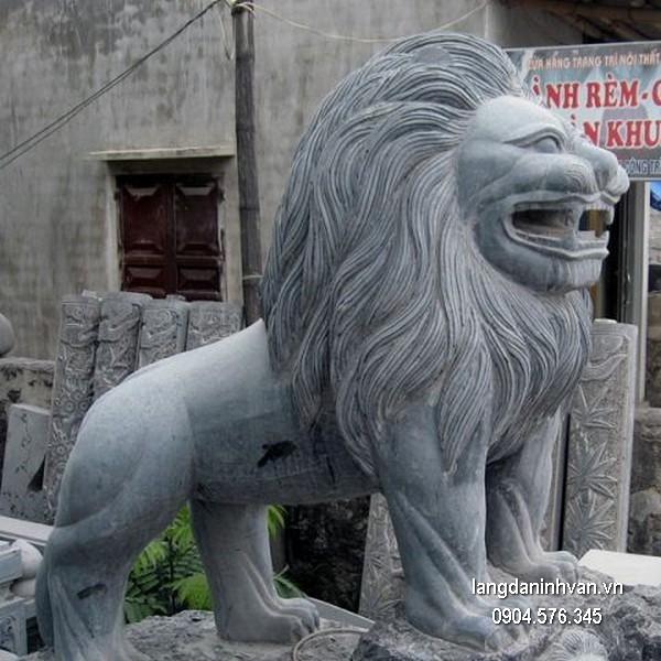 Sư tử đá phong thủy đẹp chất lượng cao giá tốt