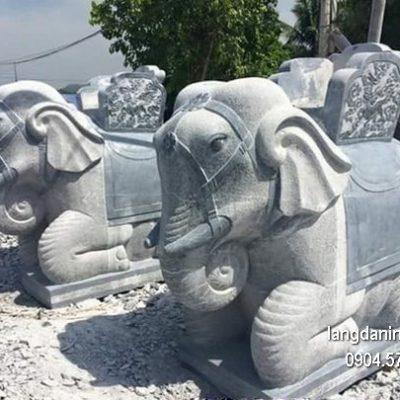 Tượng voi đá đẹp nhất chất lượng tốt giá tốt