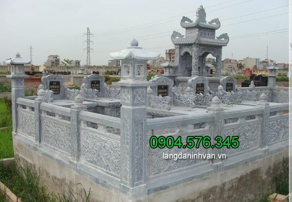 Lăng mộ đá 1 mái, hai mái ninh vân ninh bình