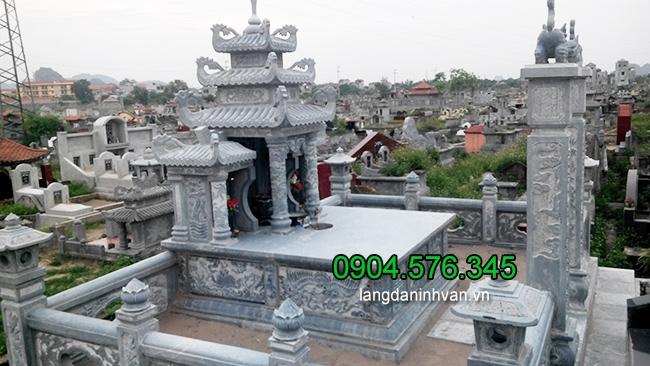 Các mẫu lăng mộ đá Ninh Vân Ninh Bình đẹp nhất được bán tại Hải Phòng