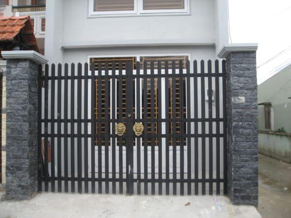 Kích cổng ngõ hệ cửa 2 cánh theothước lỗ ban