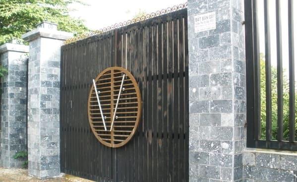 Kích thước cổng ngõ theo thước lỗ ban hợp với phong thủy