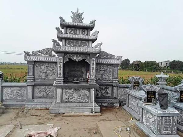 Hình ảnh khu lăng mộ đá tâm linh ninh vân