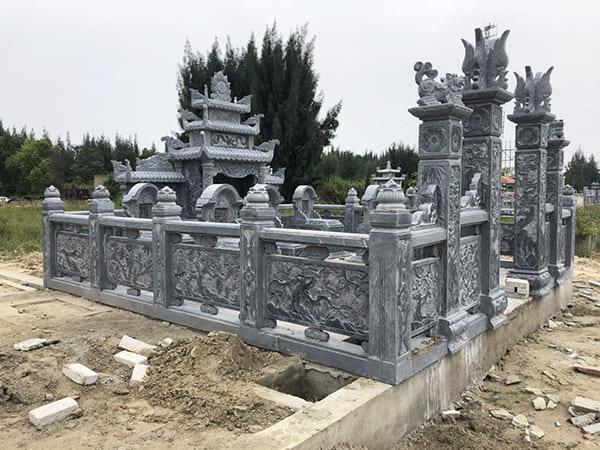 Mẫu khu lăng mộ đá thanh hóa đẹp